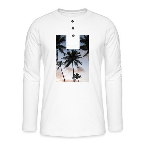 PALMTREES DOMINICAN REP. - Henley shirt met lange mouwen