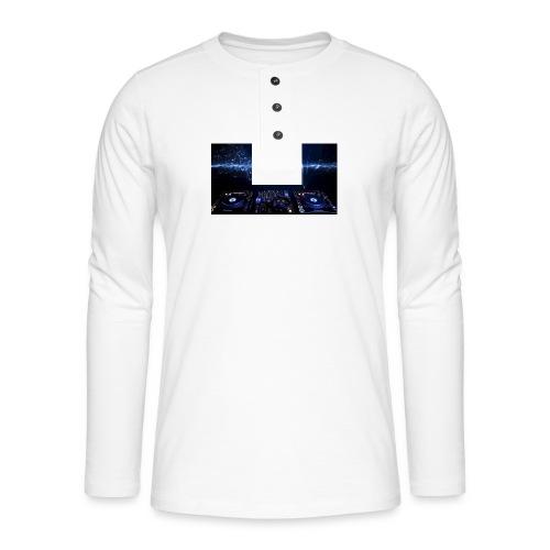 muziek - Henley shirt met lange mouwen
