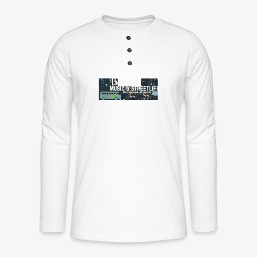 BeFunky Design - T-shirt manches longues Henley
