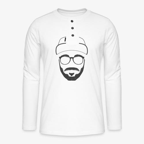 Mark - Nicht Kaddafelt - Henley Langarmshirt
