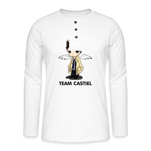 Team Castiel (light) - Henley long-sleeved shirt