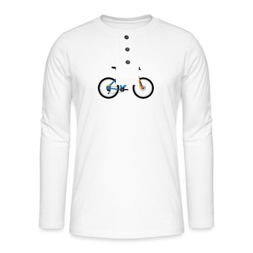 mtb bike - Henley long-sleeved shirt