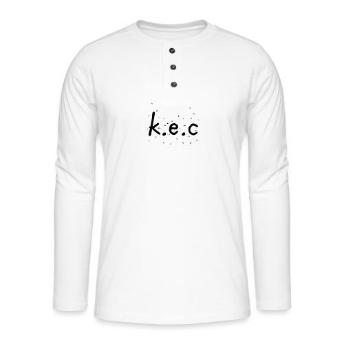 K.E.C original t-shirt kids - Henley T-shirt med lange ærmer