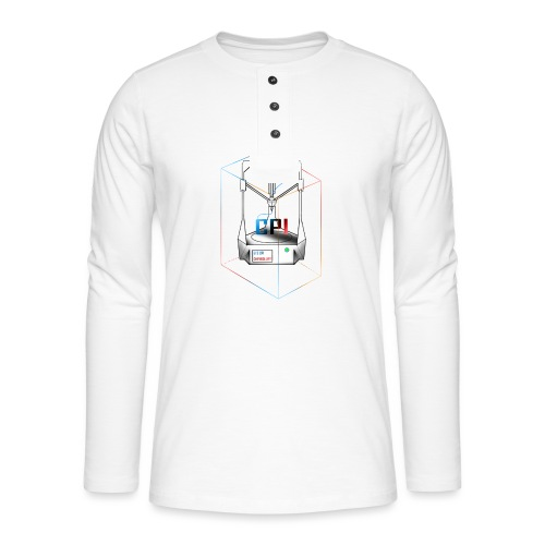 New Logo CPI - T-shirt manches longues Henley