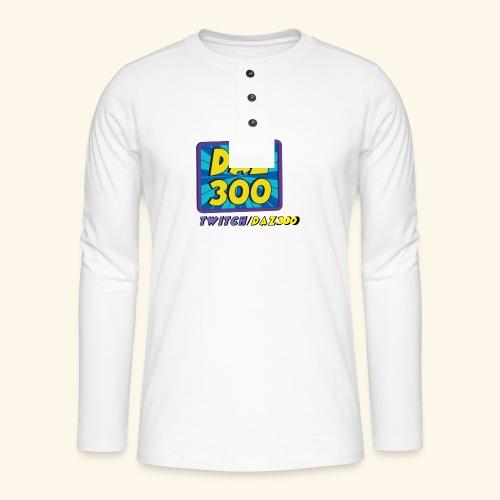 daz logo 2 0 - Henley long-sleeved shirt