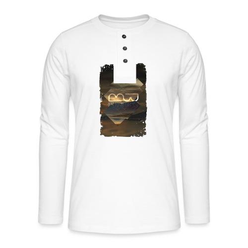 Women's shirt Album Art - Henley long-sleeved shirt