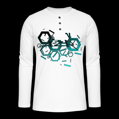AZR - T-shirt manches longues Henley