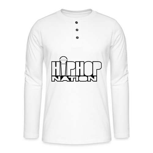 Hip-Hop Nation - T-shirt manches longues Henley