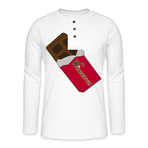 The Wonkeys Chocolate Edition - Maglia a manica lunga Henley