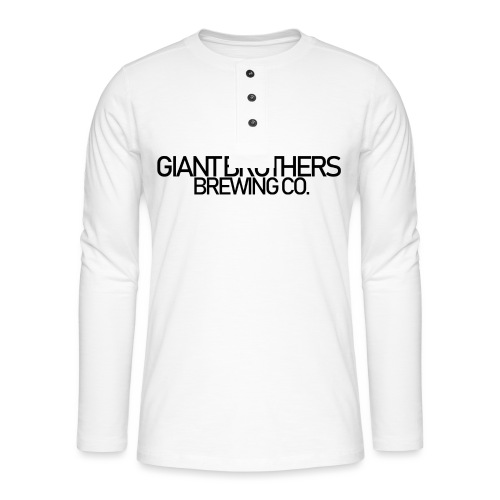 Giant Brothers Brewing co SVART - Långärmad farfarströja
