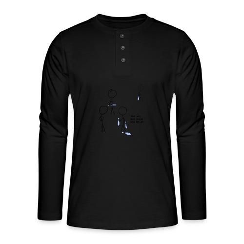 har sei png - Henley langermet T-skjorte
