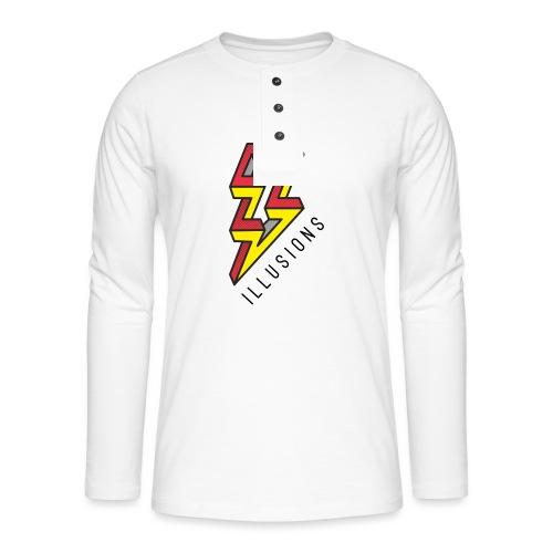 ♂ Lightning - Henley Langarmshirt