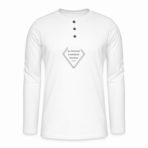 Schtephinie Evardson Fashion Range - Henley long-sleeved shirt