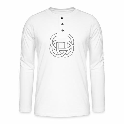 SIMBOLO CELTA SIN FONDO 1 - Camiseta panadera de manga larga Henley