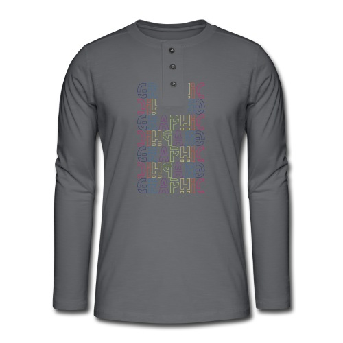 Graphic - Henley long-sleeved shirt