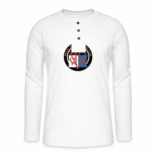 Royal Wolu Plongée Club - T-shirt manches longues Henley