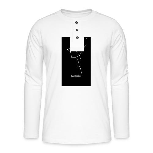 SAGITTARIUS EDIT - Henley long-sleeved shirt