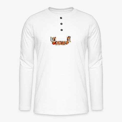 Wanka Open Air 2017 Muerte al Falso Metal - Camiseta panadera de manga larga Henley