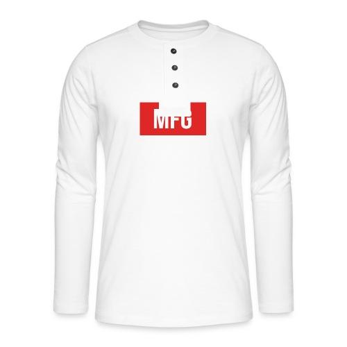 MFG on Youtube Logo - Henley long-sleeved shirt