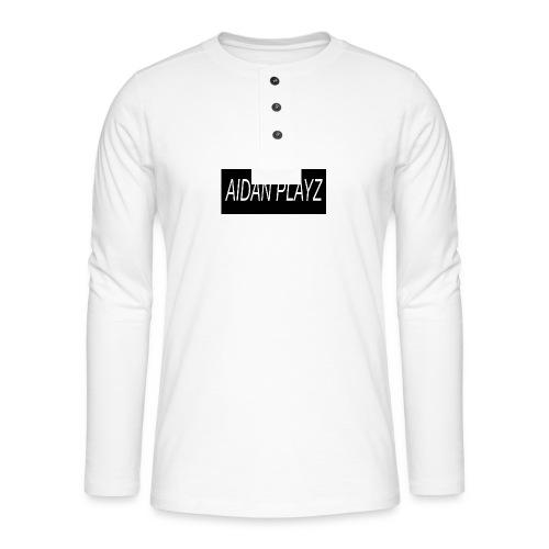 AIDAN - Henley long-sleeved shirt