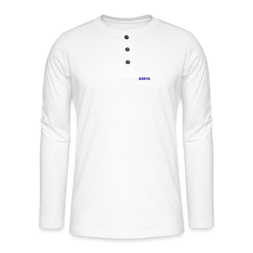 GG12 - Henley long-sleeved shirt