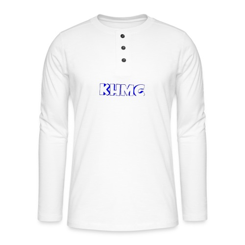 The Official KHMC Merch - Henley long-sleeved shirt