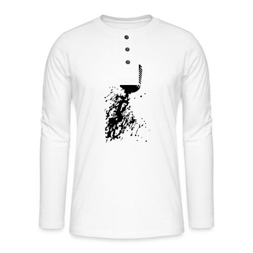 dirtymic - Henley shirt met lange mouwen