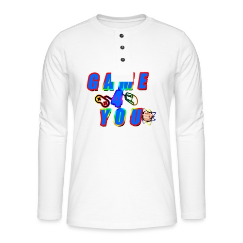 Game4You - Henley long-sleeved shirt