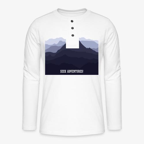 seekadventures - Henley long-sleeved shirt
