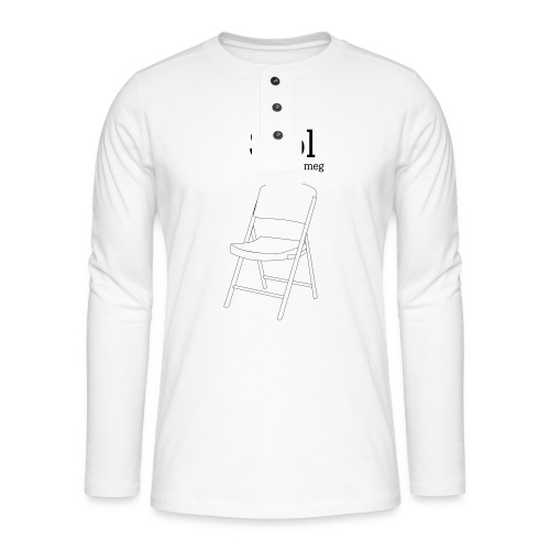 Stol på meg - Henley langermet T-skjorte