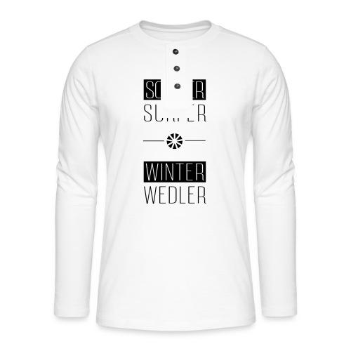 sommer surfer winter wedler - Henley Langarmshirt