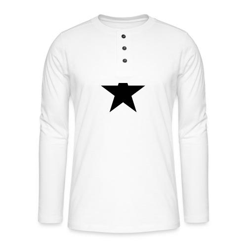 Ardrossan St.Pauli Black Star - Henley long-sleeved shirt