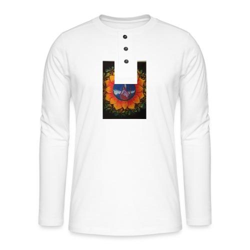 Children of the sun - Henley langermet T-skjorte
