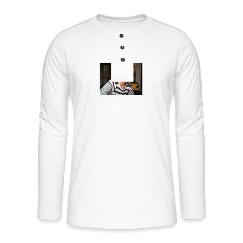 WIN_20161007_17_58_09_Pro - Henley shirt met lange mouwen