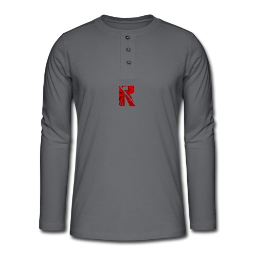 RaZe R Logo - Henley long-sleeved shirt