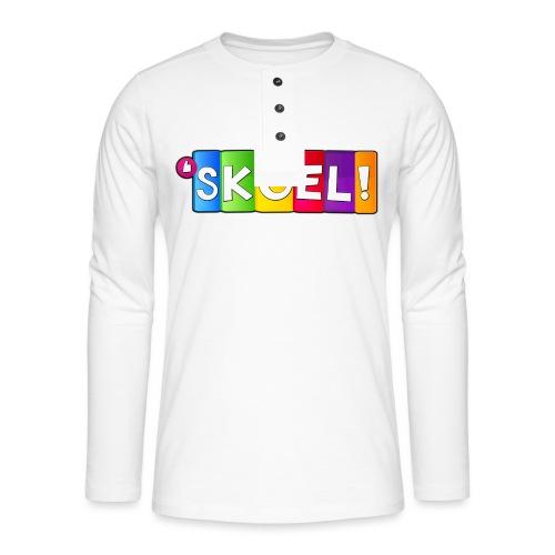 SKOEL merchandise - Henley shirt met lange mouwen