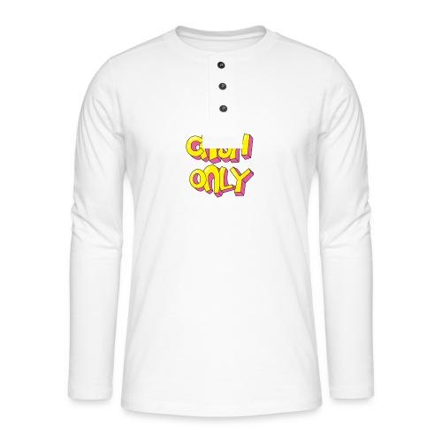Cash only - Henley shirt met lange mouwen