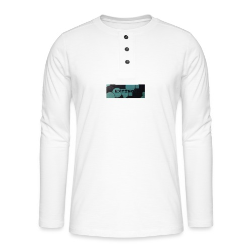Extinct box logo - Henley long-sleeved shirt