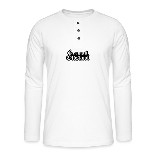 Grand Logo German Oldskool Official - T-shirt manches longues Henley