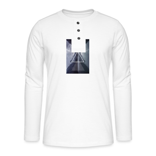 SHAPE - Koszulka henley z długim rękawem