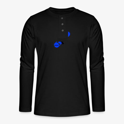 skateboard 512 - Henley T-shirt med lange ærmer