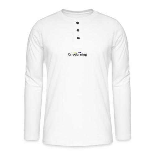 XsivGaming Logo - Henley long-sleeved shirt