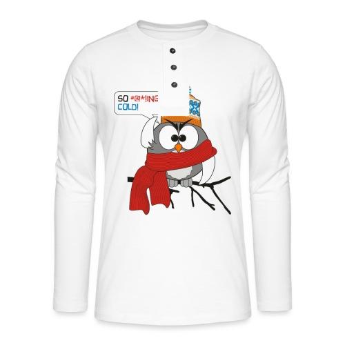 Cold bird - Henley pitkähihainen paita