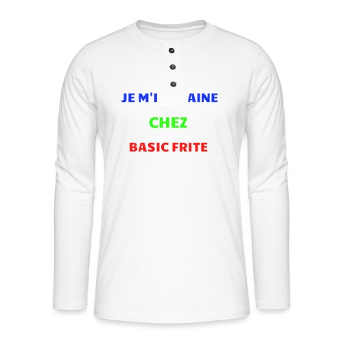 Basic Frite - T-shirt manches longues Henley