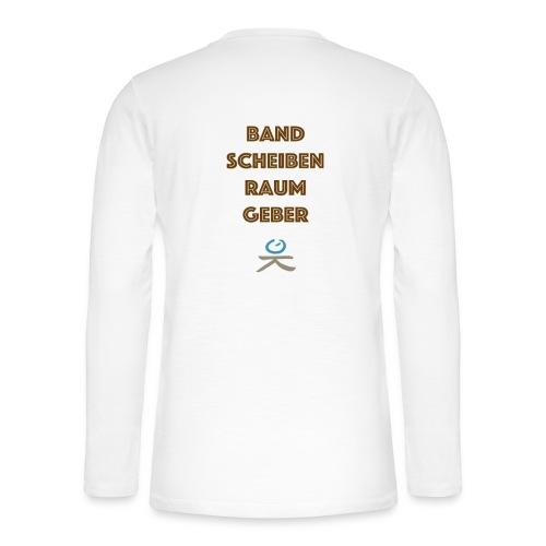 Bandscheibenraumgeber - Henley Langarmshirt