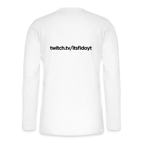 Fido - Twitch Link - Henley T-shirt med lange ærmer
