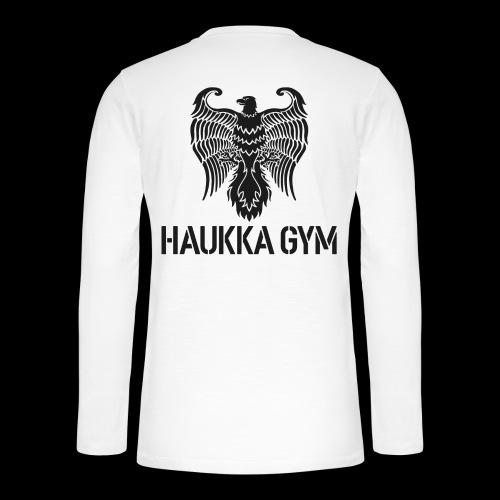 HAUKKA GYM LOGO - Henley pitkähihainen paita