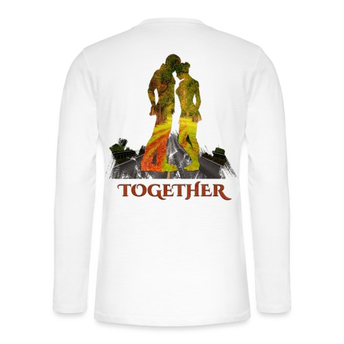 Together -by- T-shirt chic et choc - T-shirt manches longues Henley