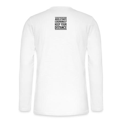 Keep SAFe away - Henley pitkähihainen paita
