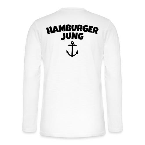 Hamburger Jung aus Hamburg - Henley Langarmshirt